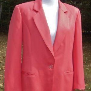 Hero Fully Lined Peach Colored Blazer/Jacket